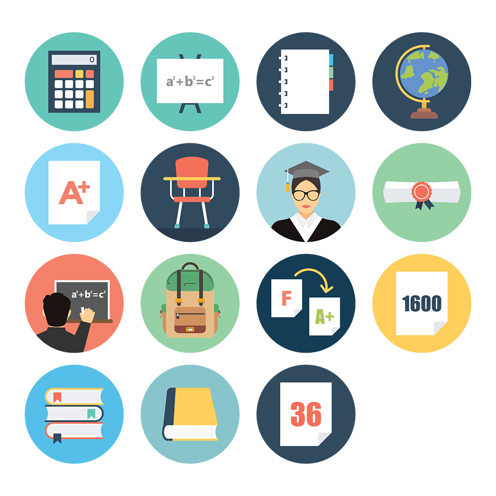 Tutor Icon Set 2